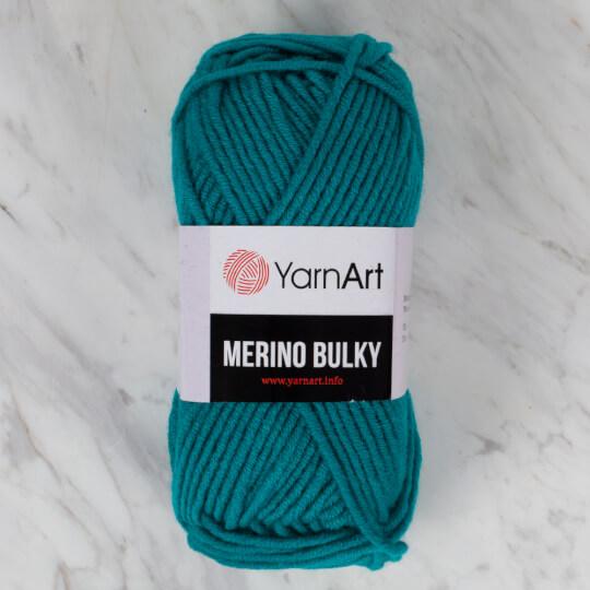 Yarnart Merino Bulky Koyu Yeşil El Örgü İpliği - 11448