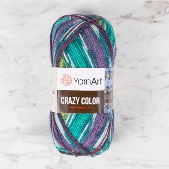 YarnArt Crazy Color Ebruli El Örgü İpi - 178