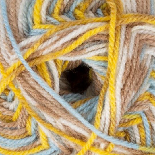 YarnArt Crazy Color Ebruli El Örgü İpi - 180