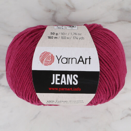 YarnArt Jeans Vişne Çürüğü El Örgü İpi - 91