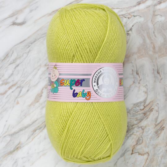Örenbayan Super Baby Fıstık Yeşili El Örgü İpi - 064