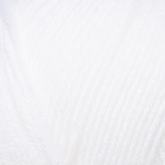 Örenbayan Lux Baby Kemik Beyaz El Örgü İpi - 111