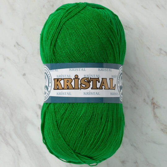 Örenbayan Kristal Yeşil El Örgü İpliği - 120
