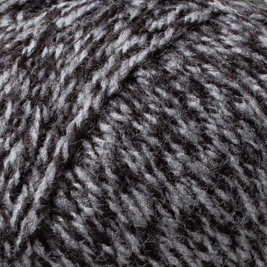 Örenbayan Favori Kırçıllı Siyah El Örgü İpliği - 300