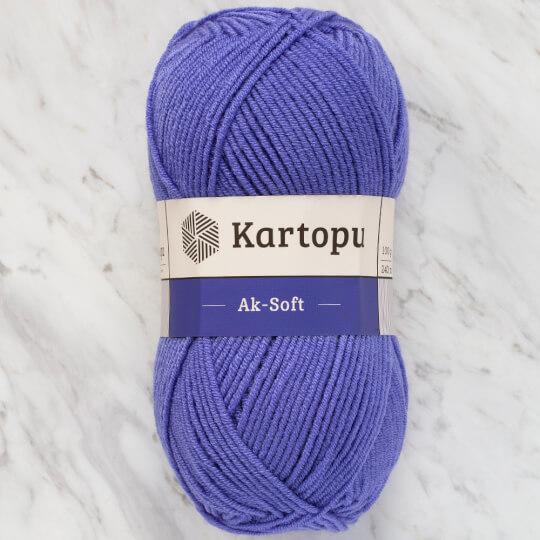 Kartopu Ak-Soft Mor El Örgü İpi - K717