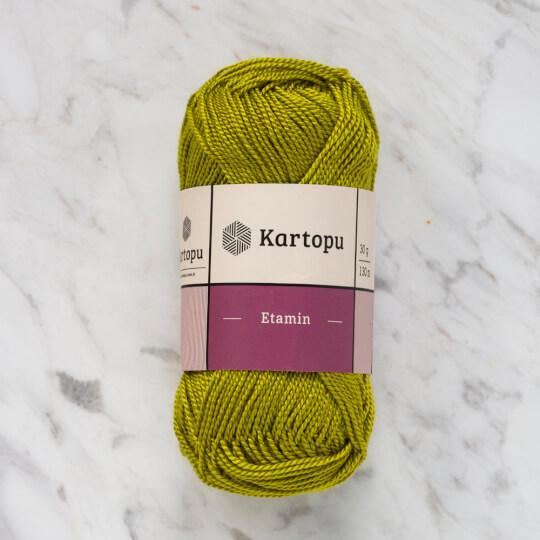 Kartopu Etamin 30gr Yeşil Nakış İpliği - K369