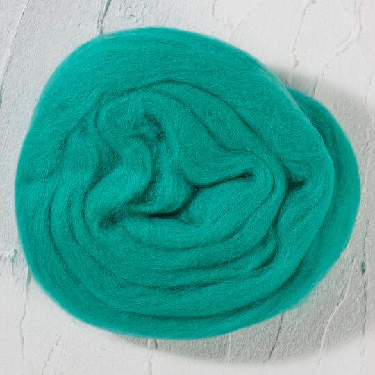Kartopu Mint Yeşili Yün Keçe - K438