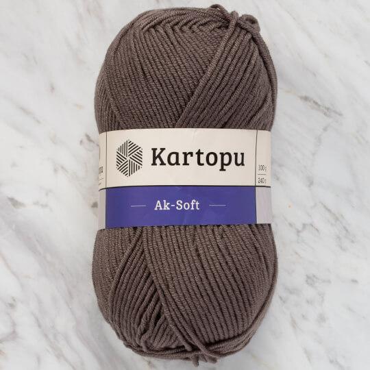 Kartopu Ak-Soft Gri El Örgü İpi - K1921