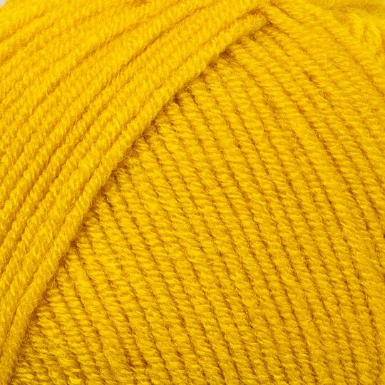 Kartopu Ak-Soft Sarı El Örgü İpi - K1321