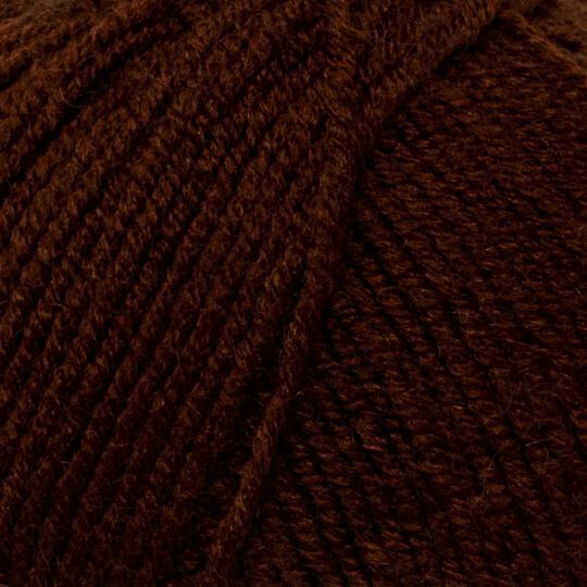 Kartopu Cozy Wool Sport Kahverengi El Örgü İpi - K890
