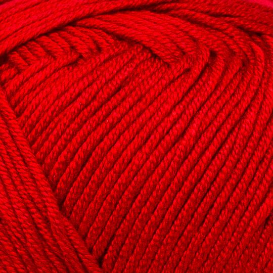 Kartopu Bambu Sakura Kırmızı El Örgü İpi - K125
