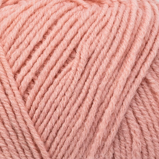 Kartopu Cozy Wool Sport Koyu Pudra El Örgü İpi - K1770