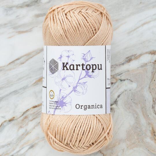 Kartopu Organica 50gr Bej El Örgü İpi - K855