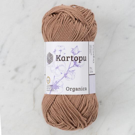 Kartopu Organica 50gr Koyu Bej El Örgü İpi - K885
