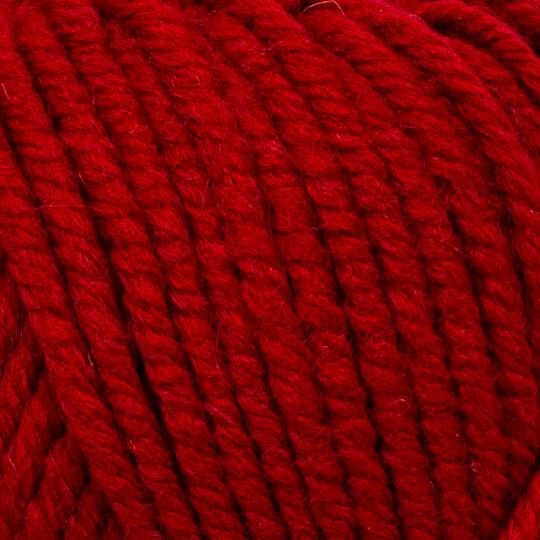 Kartopu Cozy Wool Koyu Kırmızı El Örgü İpi - K420