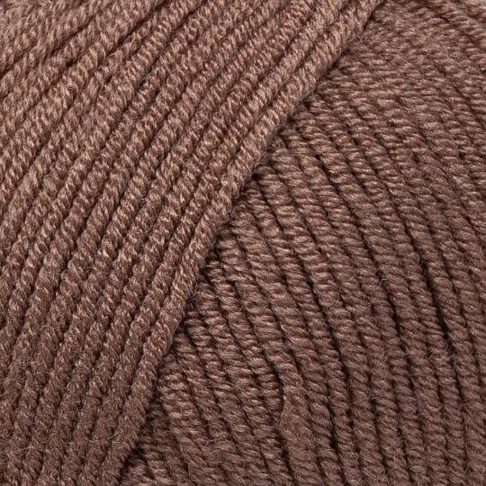 Kartopu Ak-Soft Kahverengi El Örgü İpi - K1829