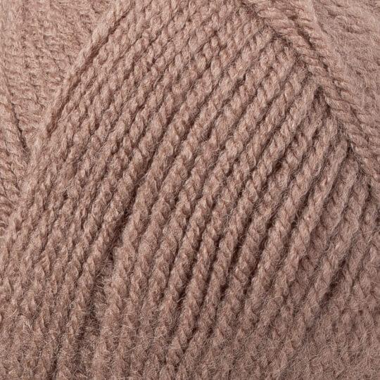 Kartopu Gonca Kahverengi El Örgü İpi - K1829