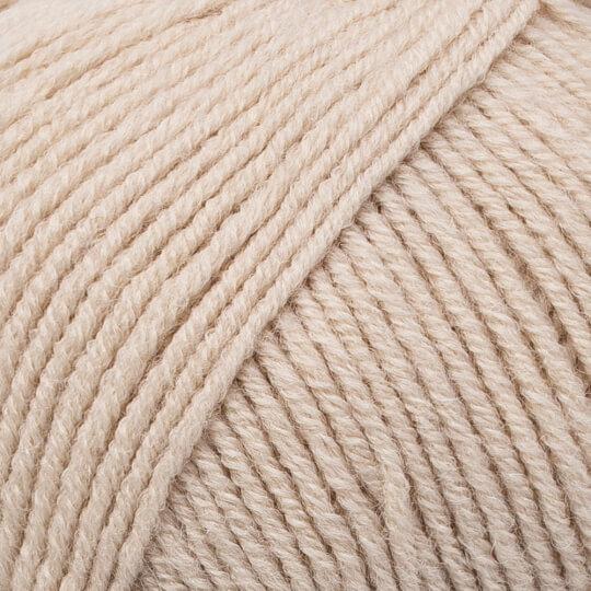 Kartopu Cozy Wool Sport Açık Bej El Örgü İpi - K1881