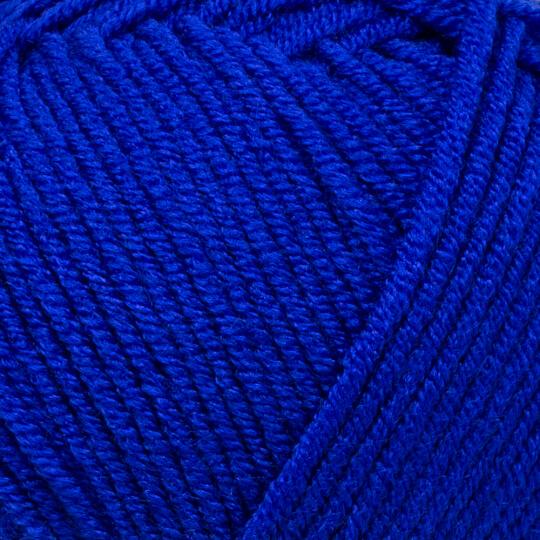 Kartopu Ak-Soft Mavi El Örgü İpi - K624