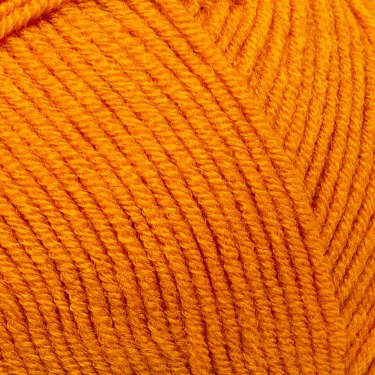 Kartopu Ak-Soft Hardal Sarısı El Örgü İpi - K1314