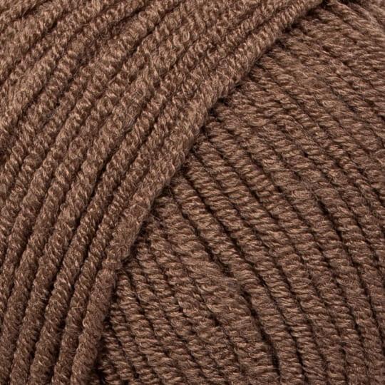 Kartopu Ak-Soft Kahverengi El Örgü İpi - K1826