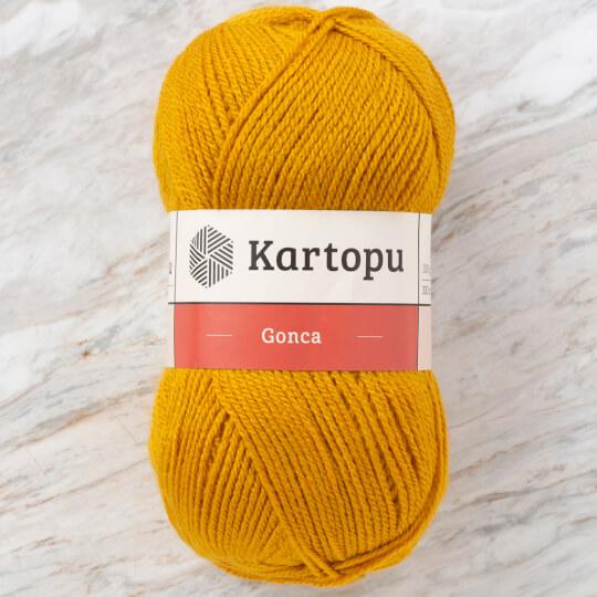 Kartopu Gonca Hardal Sarısı El Örgü İpi - K1318