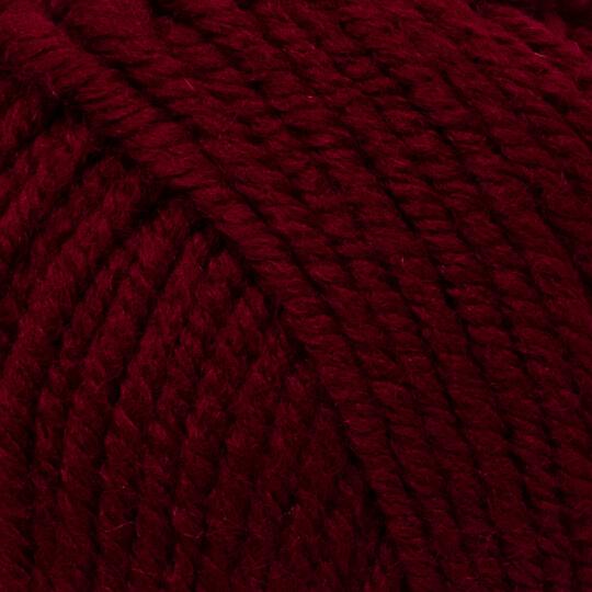 Kartopu Cozy Wool Koyu Bordo El Örgü İpi - K1111