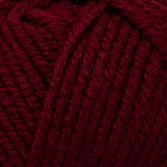 Kartopu Cozy Wool Bordo El Örgü İpi - K1116