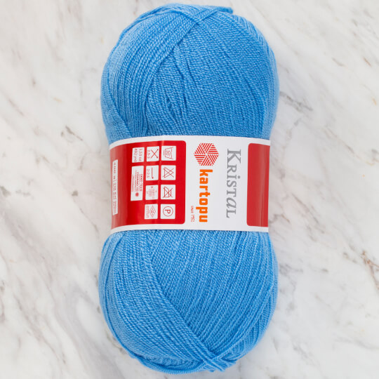Kartopu Kristal Mavi El Örgü İpi - K1529