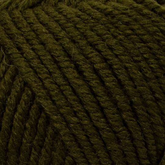 Kartopu Cozy Wool Koyu Yeşil El Örgü İpi - K1419