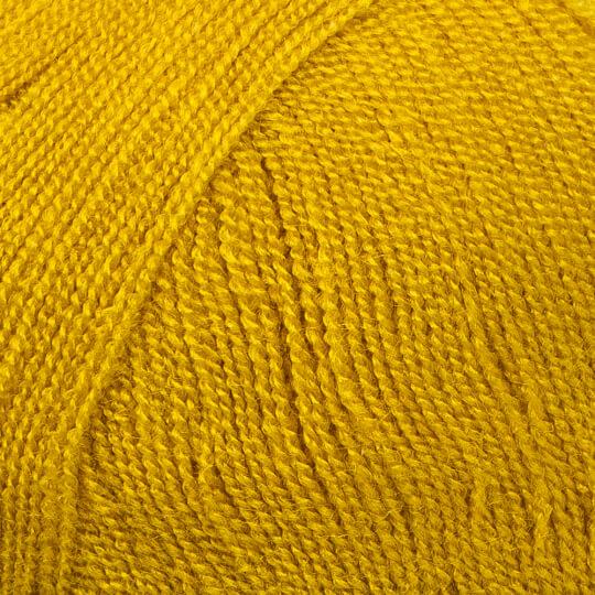 Kartopu Kristal Hardal Sarısı El Örgü İpi - K1388