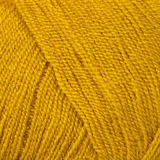 Kartopu Kristal Hardal Sarısı El Örgü İpi - K1339