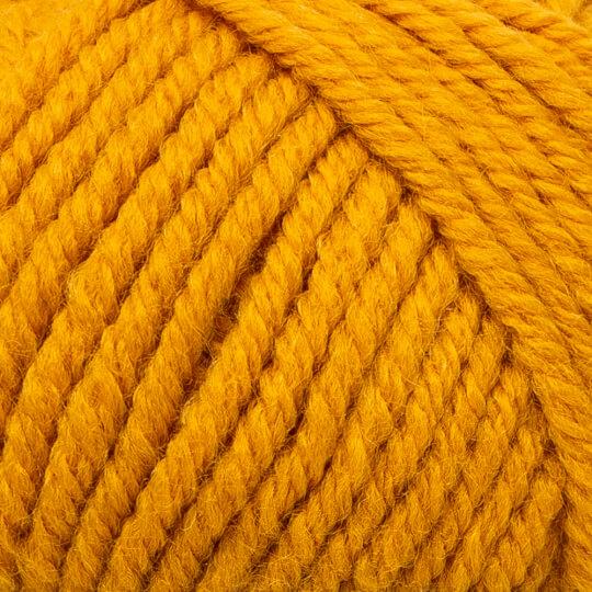 Kartopu Cozy Wool Hardal Sarısı El Örgü İpi - K1307