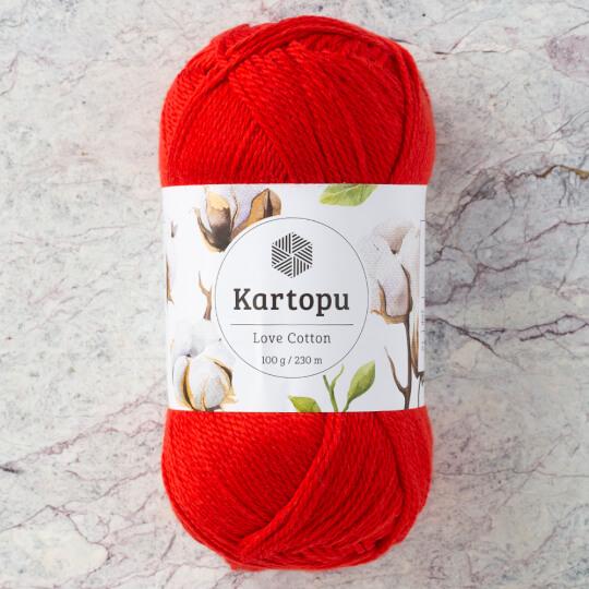 Kartopu Love Cotton Nar Çiçeği El Örgü İpi - K150