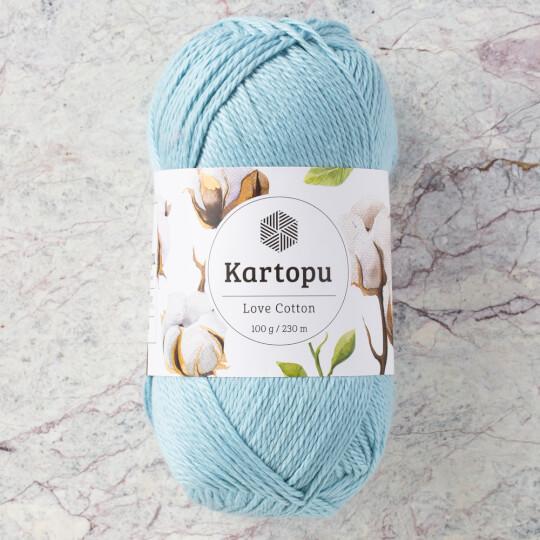 Kartopu Love Cotton Açık Mavi El Örgü İpi - K540