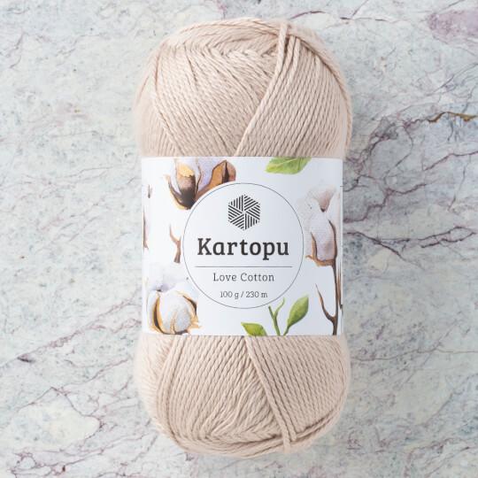 Kartopu Love Cotton Bej El Örgü İpi - K855
