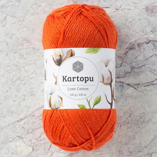 Kartopu Love Cotton Turuncu El Örgü İpi - K237