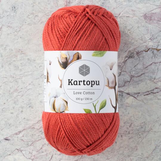 Kartopu Love Cotton Kiremit Rengi El Örgü İpi - K1264
