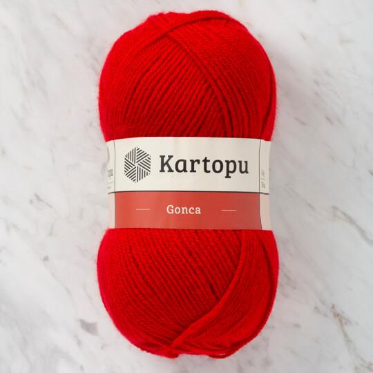 Kartopu Gonca Kırmızı El Örgü İpi - K125