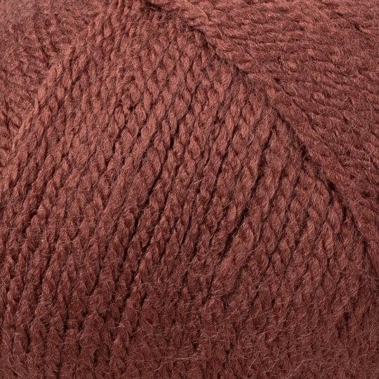 Kartopu Gonca Kahverengi El Örgü İpi - K1892