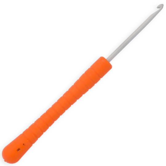 Pony Easy Grip 3 mm 14 cm Turuncu Plastik Saplı Yün Tığ - 30803