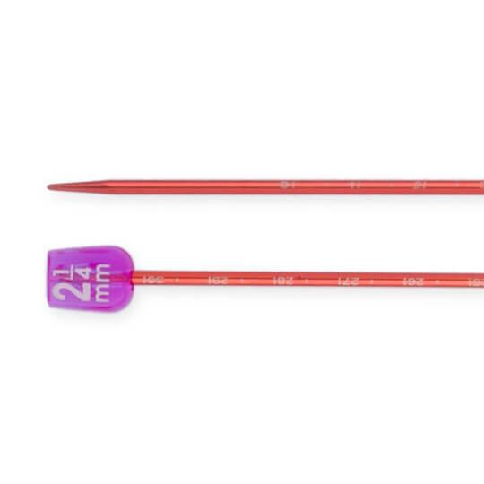 Pony Measure 2.25 mm 35 cm Turuncu Cetvelli Alüminyum Örgü Şişi - 34502