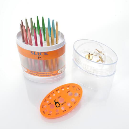 Pony Slick Renkli Alüminyum Değiştirilebilir Misinalı Şiş Seti - 56902