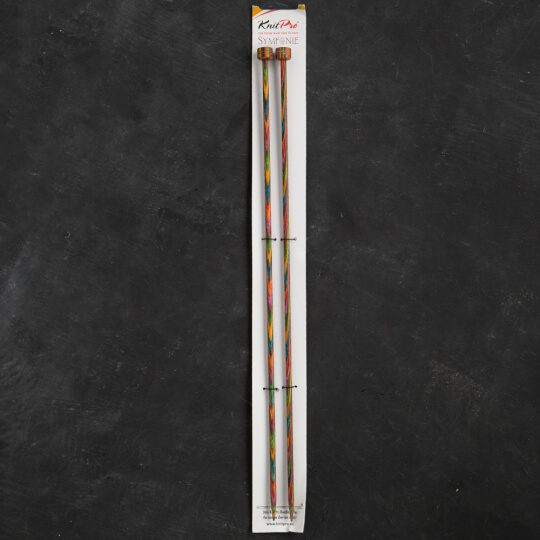 KnitPro Symfonie 4,5 mm 35 cm Ahşap Örgü Şişi - 20218