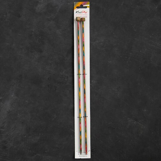 KnitPro Symfonie 5 mm 35 cm Ahşap Örgü Şişi - 20219