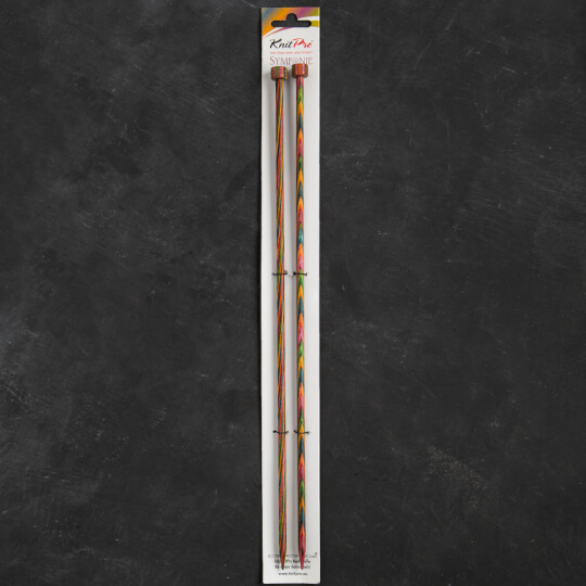KnitPro Symfonie 5,5 mm 35 cm Ahşap Örgü Şişi - 20220