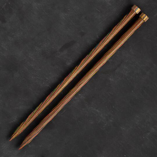 KnitPro Symfonie 12 mm 35 cm Ahşap Örgü Şişi - 20227