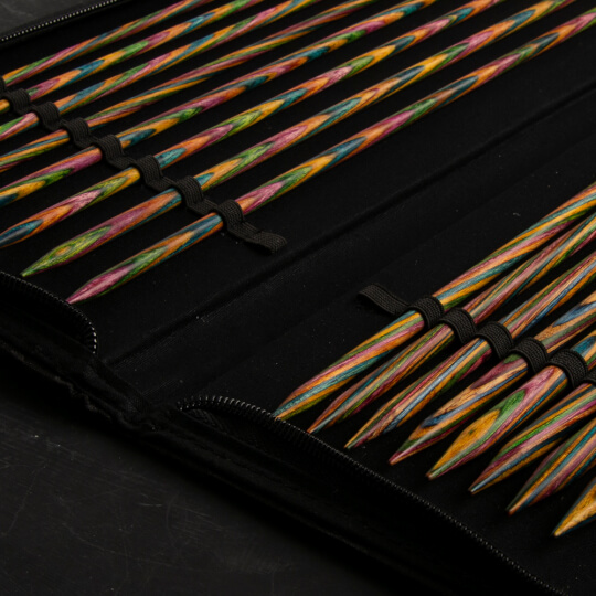 KnitPro Symfonie Ahşap Örgü Şişi Seti 35 cm - 20228