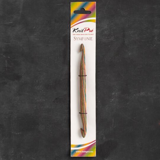 KnitPro Symfonie 9 mm - 10 mm 15 cm Çift Uçlu Tığ - 20725
