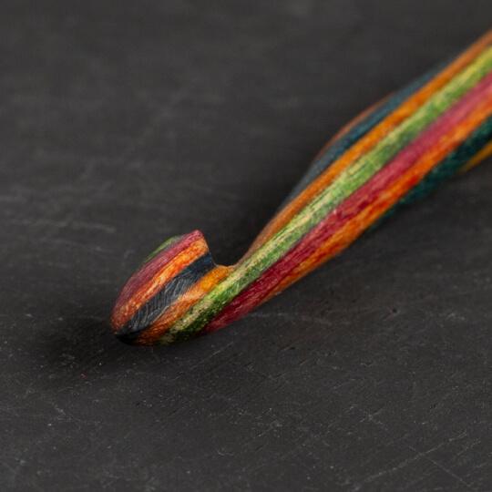 KnitPro Symfonie 6 mm - 6,5 mm 15 cm Çift Uçlu Tunus Tığı - 20728